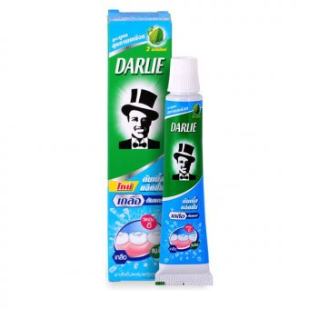 "картинка Зубная паста - Darlie - Double Action Salt Gum Care  ""Уход за деснами"", 35гр от интернет-магазина Pampersok.ru"